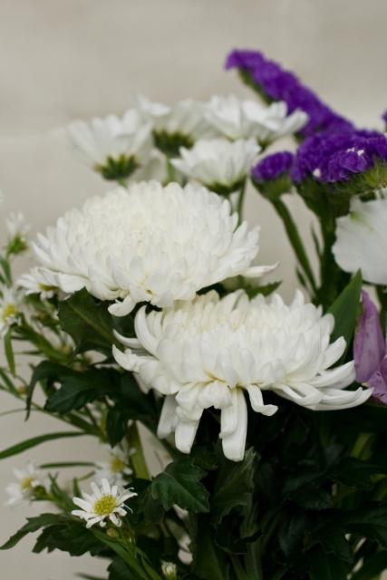 葬儀の花の並び順